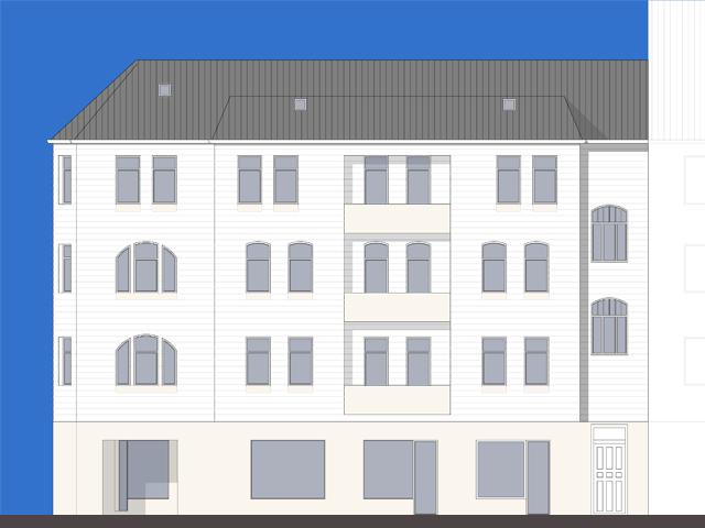 Umbau und Dachgeschossausbau